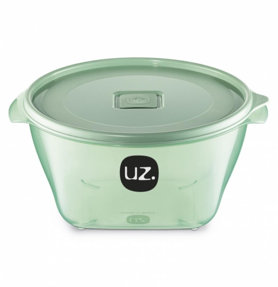Pote Multiuso 2 litros Verde - UZ Utilidades  - Lojão de Ofertas
