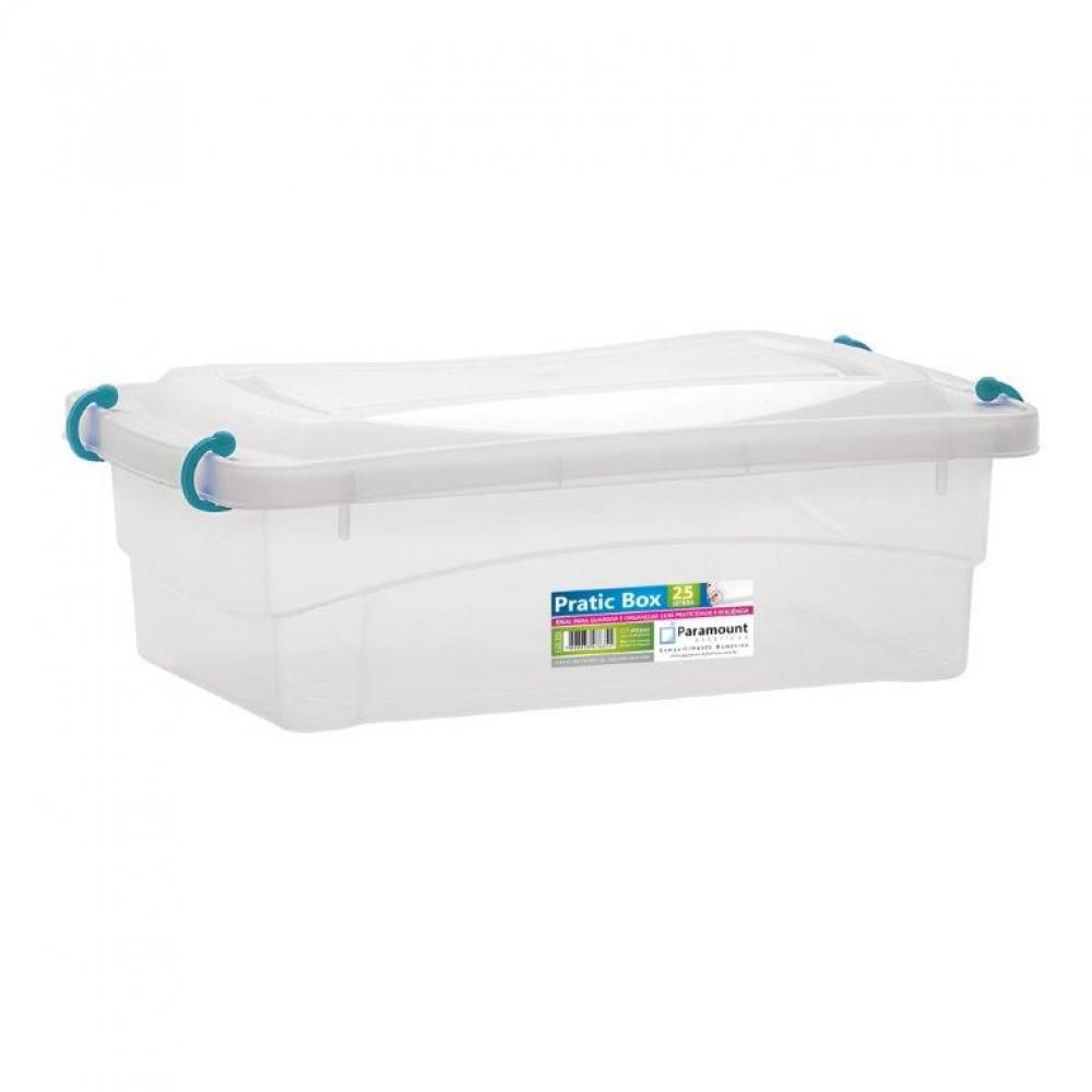 Pratic Box 2,5 litros - 27 x 18 x 9 cm - Paramount  - Lojão de Ofertas