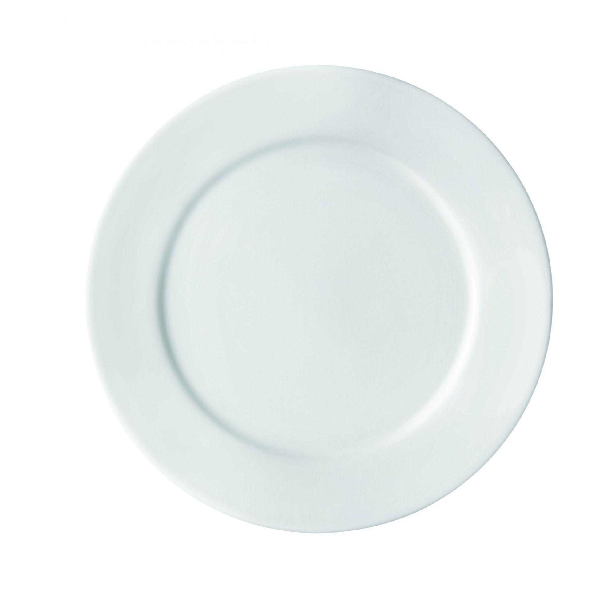 Prato Sobremesa c/ aba 18,5 cm (dúzia) - Linha Bar/Hotel - Germer  - Lojão de Ofertas
