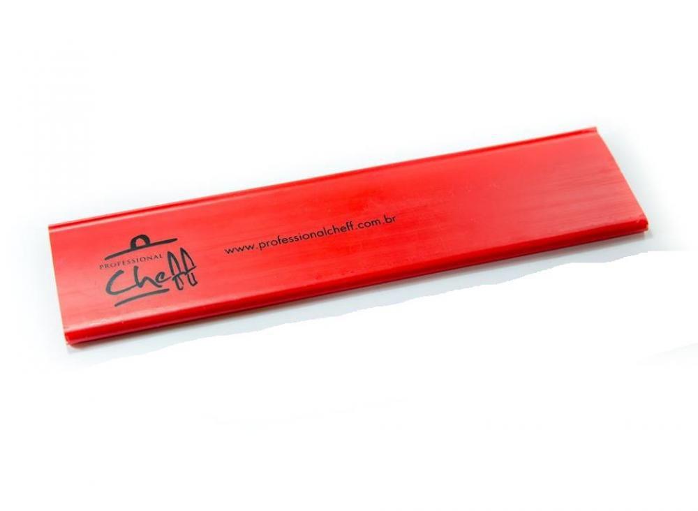 """Protetor Vermelho - Facas Sushiman 12"""" - Professional Cheff  - Lojão de Ofertas"""