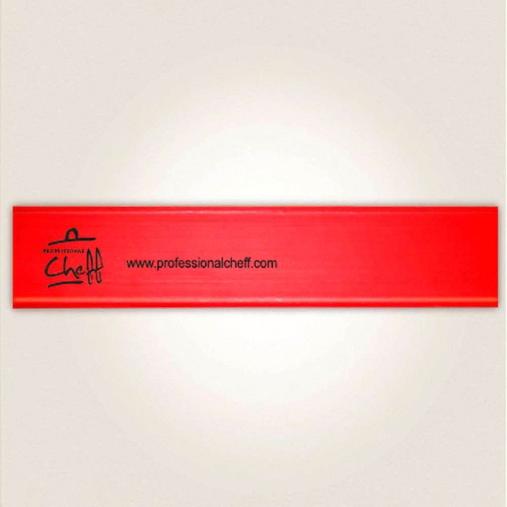 """Protetor Vermelho - Facas Chef 10"""" - Professional Cheff  - Lojão de Ofertas"""
