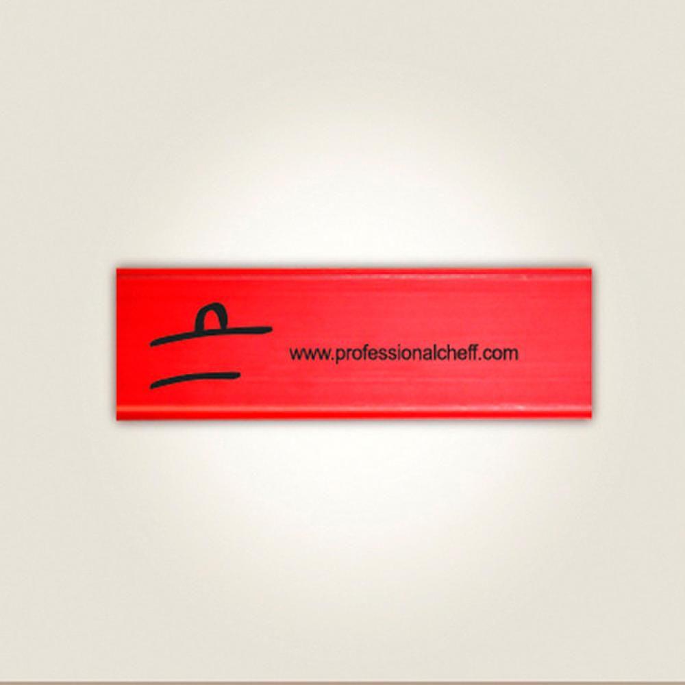 """Protetor Vermelho - Facas de Legumes/Tornear 3"""" - Professional Cheff  - Lojão de Ofertas"""