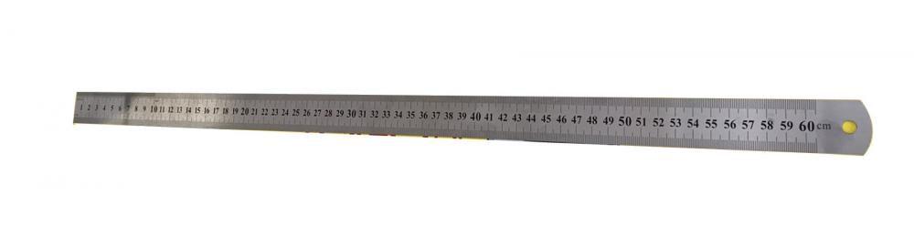 Régua Inox 60 cm para Medição de Volumes - Tools Club  - Lojão de Ofertas