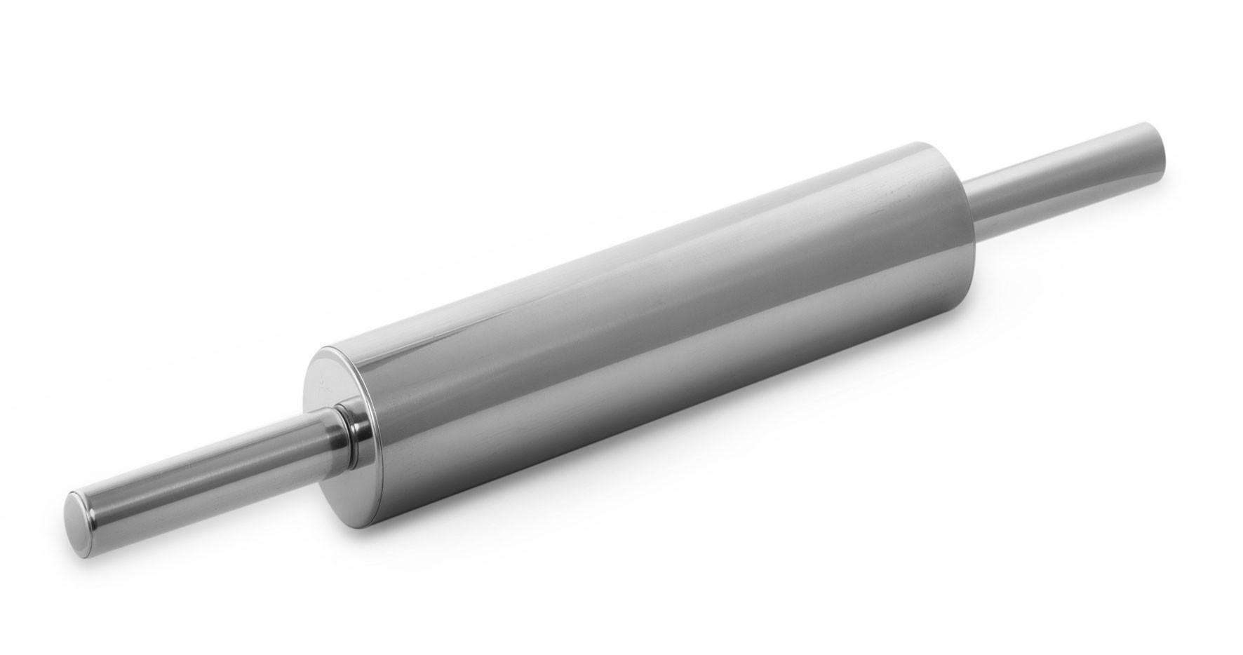 Rolo de Massa Inox - 44 x 5 cm - Mimo Style  - Lojão de Ofertas