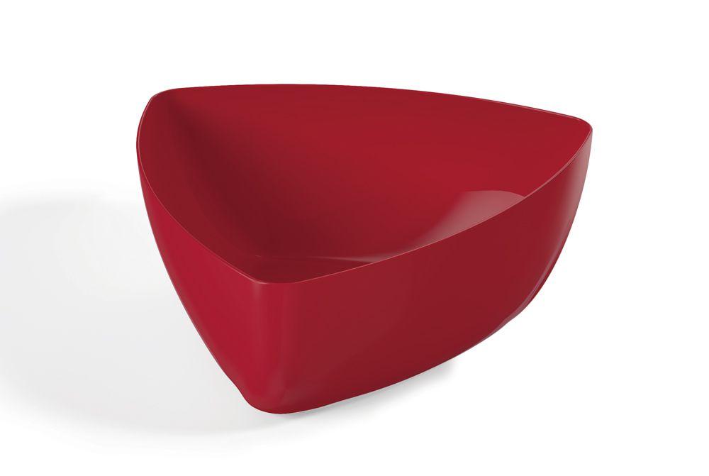 Saladeira 4 litros Trial Plus Vermelha - UZ Utilidades  - Lojão de Ofertas