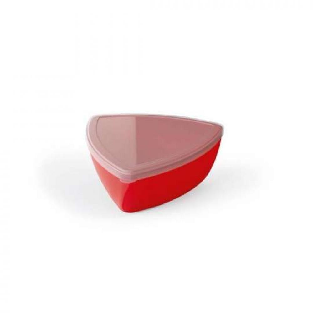 Saladeira Vermelha 300 ml - com Tampa - UZ Utilidades  - Lojão de Ofertas