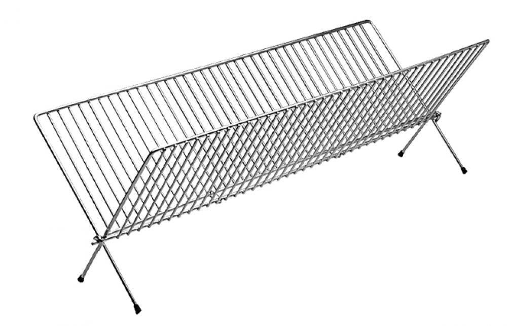 Secador para 36 pratos - Alumínio ABC  - Lojão de Ofertas