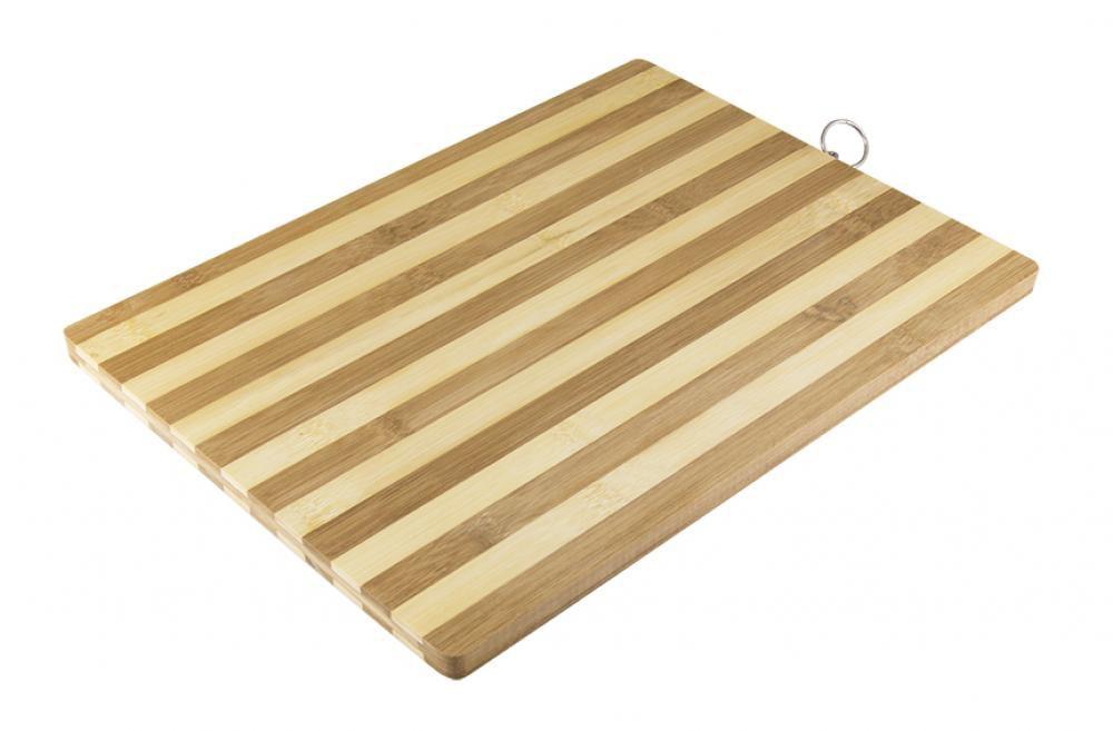 Tabua de Bambu 38 x 28 cm - 1,4 cm espessura - Etilux  - Lojão de Ofertas