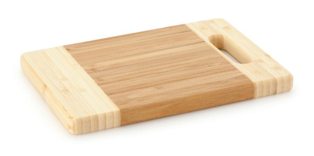 Tábua de Corte de Bambu 24 x 16 x 1,8 cm - Multiflon  - Lojão de Ofertas