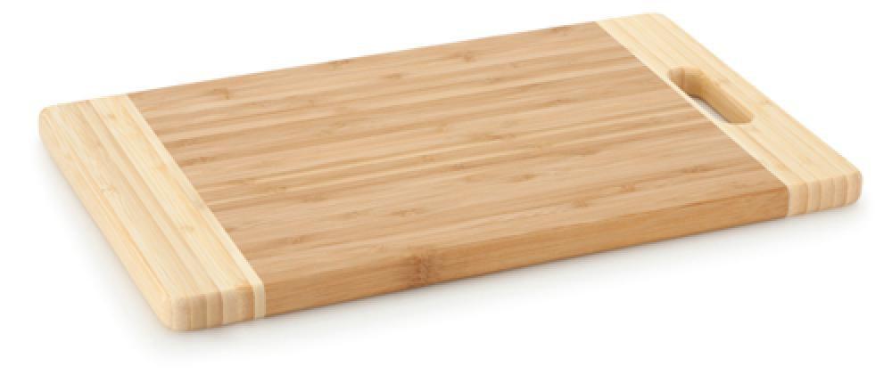 Tábua de Corte de Bambu 39 x 24 x 1,8 cm - Multiflon  - Lojão de Ofertas