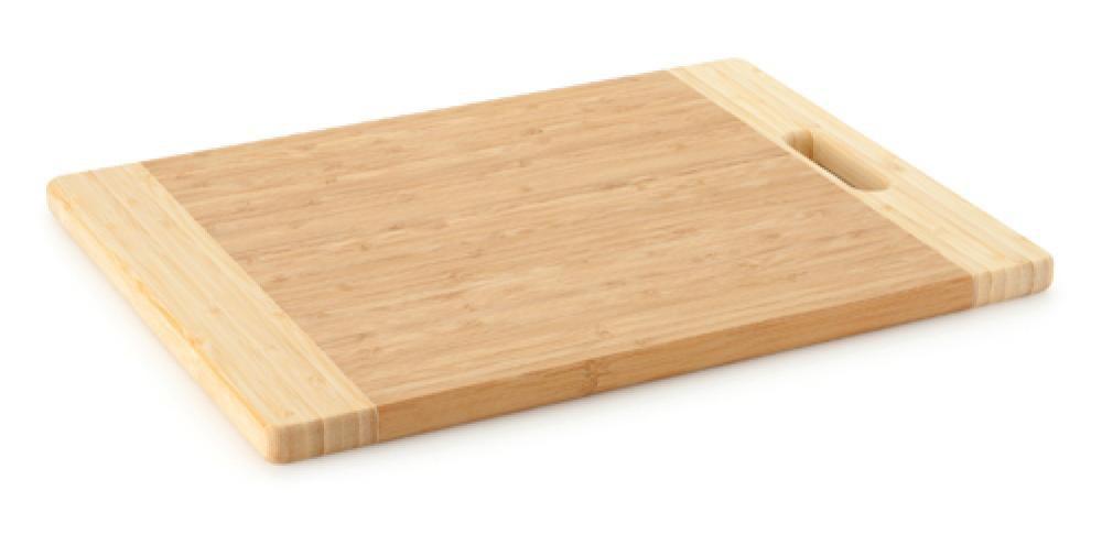 Tábua de Corte de Bambu 40 x 30 x 1,8 cm - Multiflon  - Lojão de Ofertas
