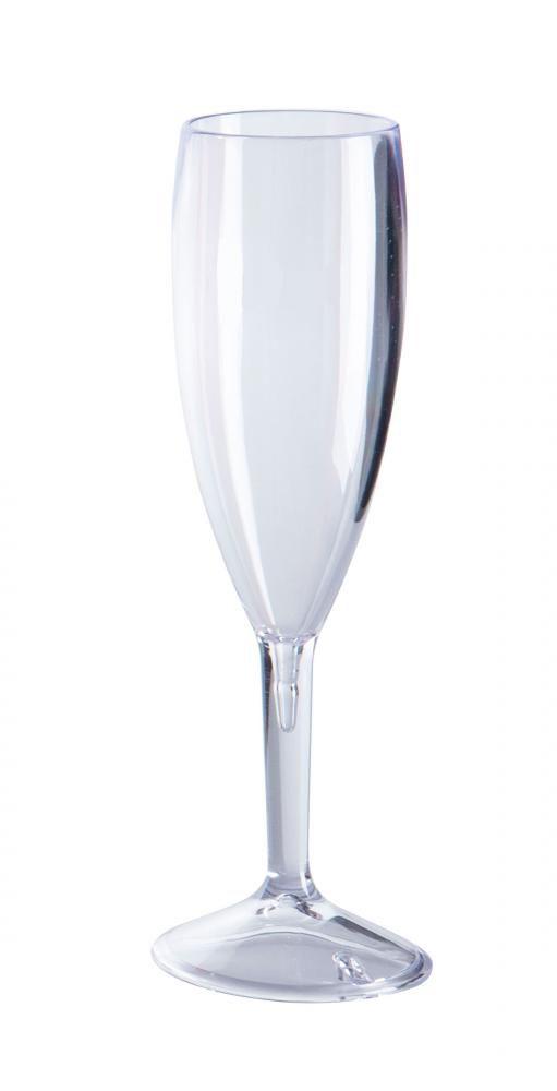 Taça Espumante 170 ml - Plástico Transparente - Taumer  - Lojão de Ofertas