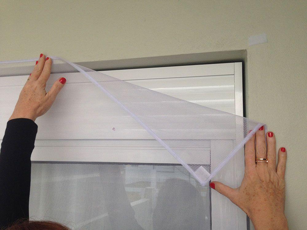 Tela Mosquiteiro 1,55 x 1,25 cm - Insect Block  - Lojão de Ofertas