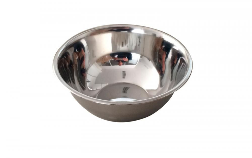 Tigela (Bowl) Inox 14 cm - GP Inox  - Lojão de Ofertas