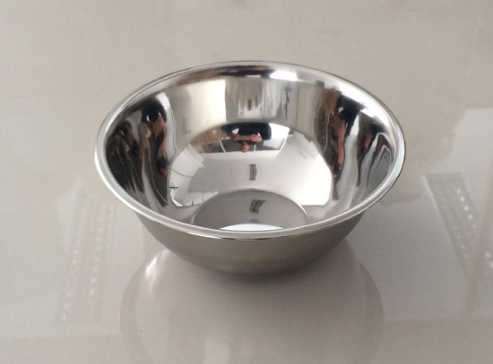 Tigela (Bowl) Inox 18 cm - GP Inox  - Lojão de Ofertas