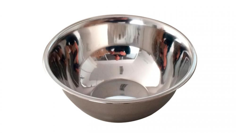 Tigela (Bowl) Inox 24 cm - GP Inox  - Lojão de Ofertas