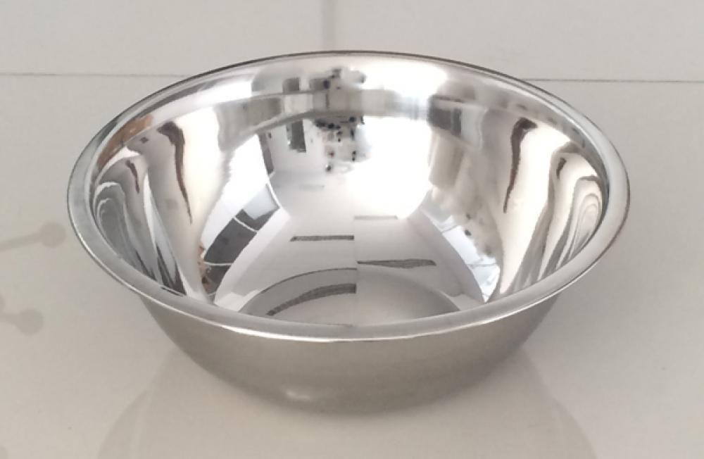 Tigela (Bowl) Inox 30 cm - GP Inox  - Lojão de Ofertas