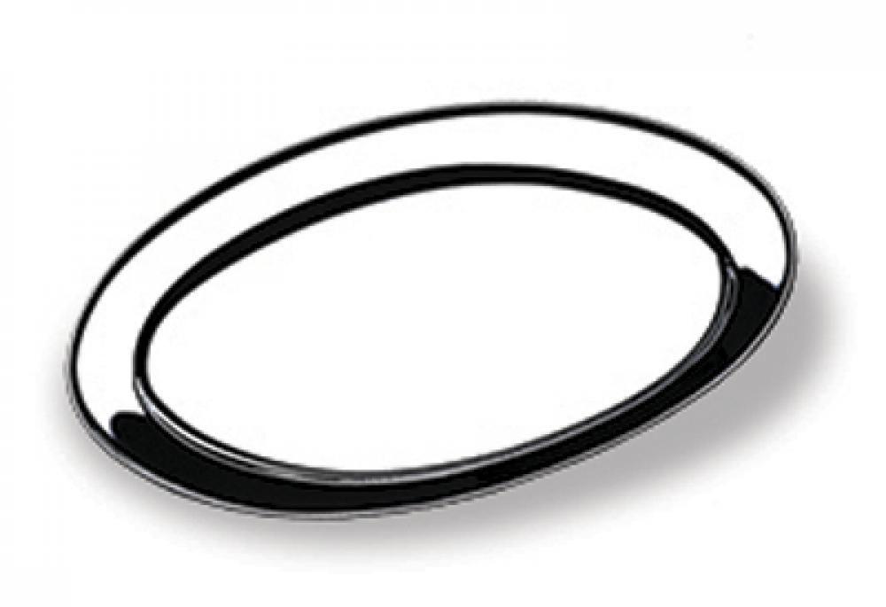 Travessa Oval Rasa 25 cm - Domama  - Lojão de Ofertas