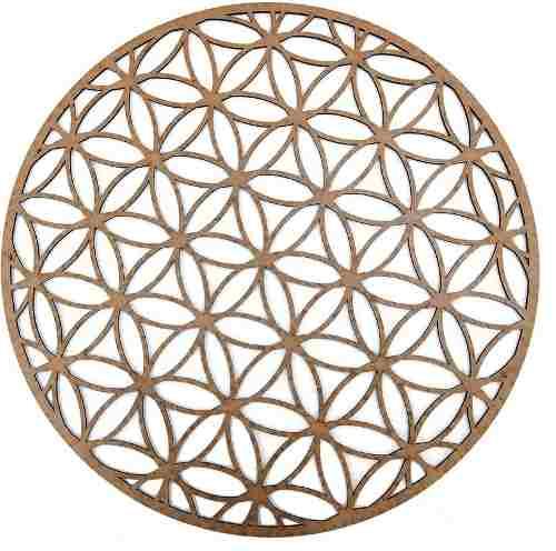 Mandala Quadro Decorativo Exotérico Em Mdf Mod8