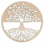 Mandala Árvore Da Vida Em Mdf Mod3