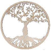 Mandala Árvore Da Vida Em Mdf Mod1