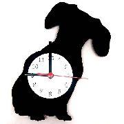 Relógio de Parede Cão Basset Linha Pet