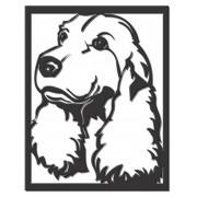 Quadro Decoração Cão Cocker Spaniel