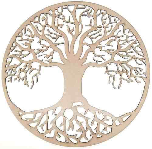 Mandala Árvore Da Vida em Mdf Mod5