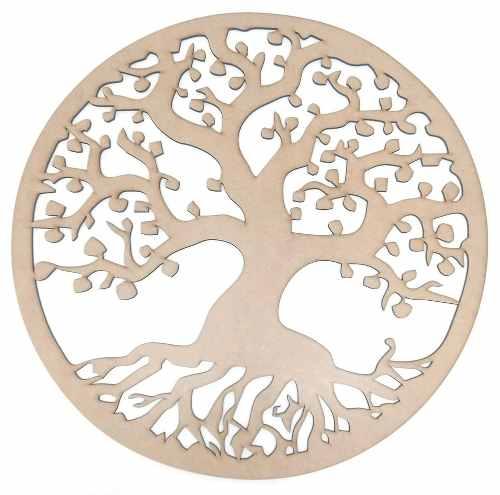Mandala Árvore Da Vida Em Mdf Mod4