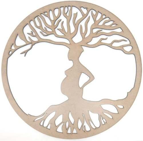 Mandala Árvore Da Vida Em Mdf Mod2
