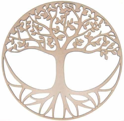 Mandala Árvore Da Vida Em Mdf Mod6
