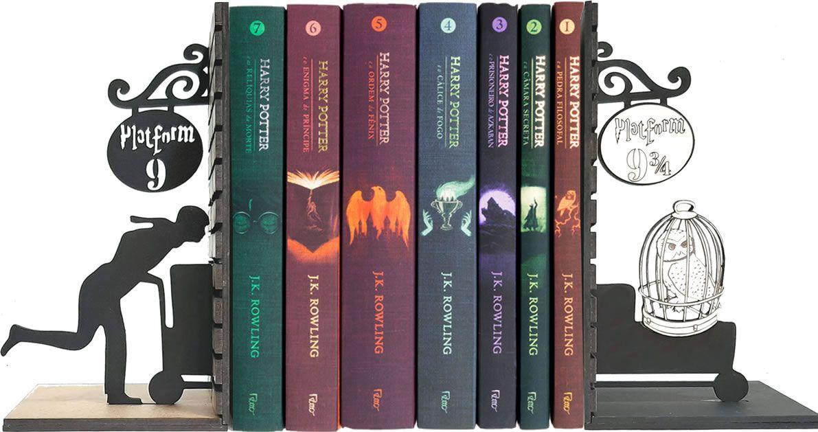 Aparador de Livros Harry Potter Plataforma