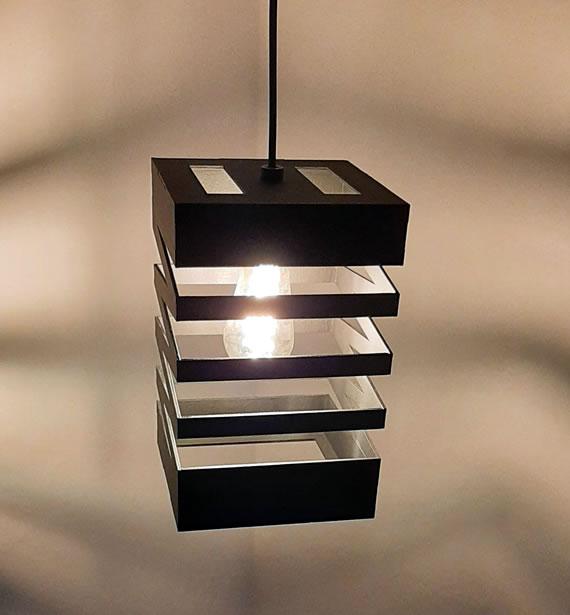 Luminária Pendente Sanfonado