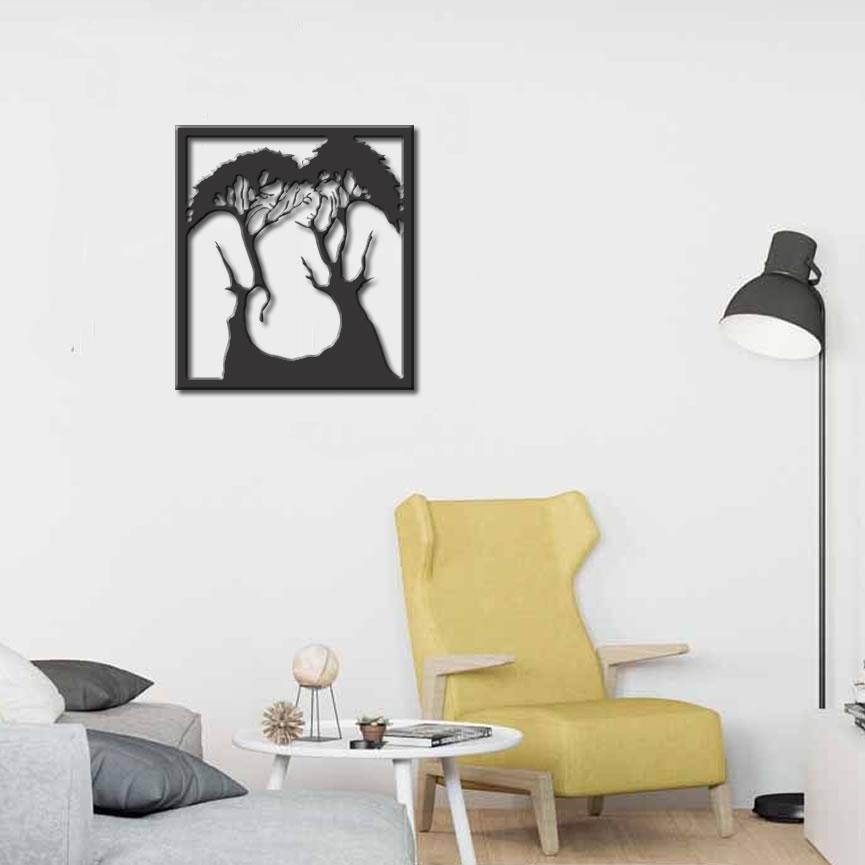 Quadro Decoração Árvore Imagem Ilusão
