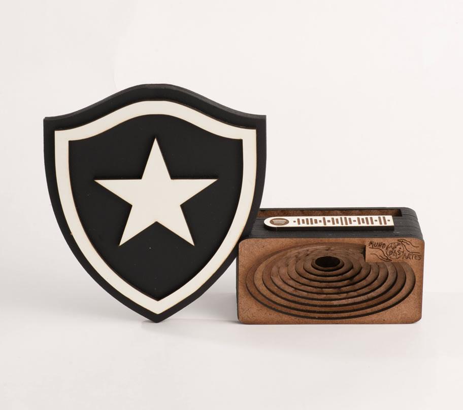 Suporte Celular Caixa Acústica Amplificadora Time Botafogo