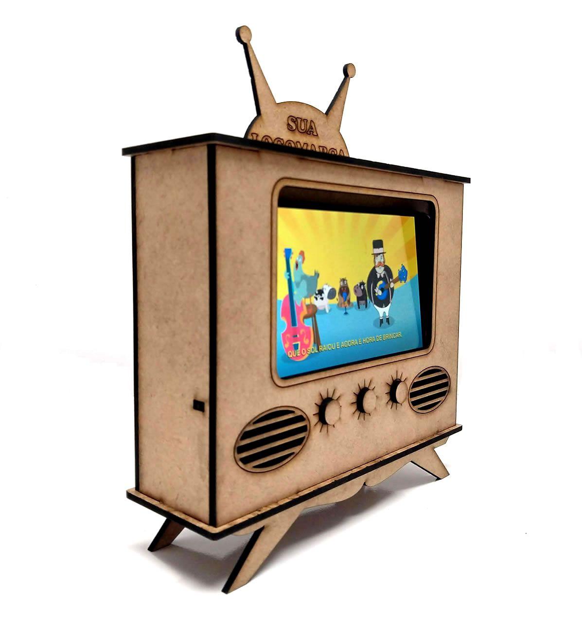Suporte para Celular TV da Criançada Personalizado