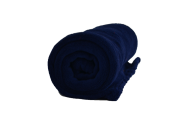 Cobertor Microfibra Berço Liso Azul Marinho