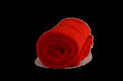 Cobertor Microfibra Berço Liso Vermelho