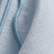 Lençol de Flanela Azul Bambino