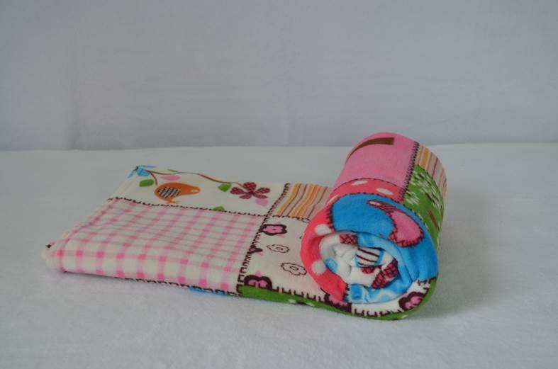 Cobertor Microfibra Bebê Garden