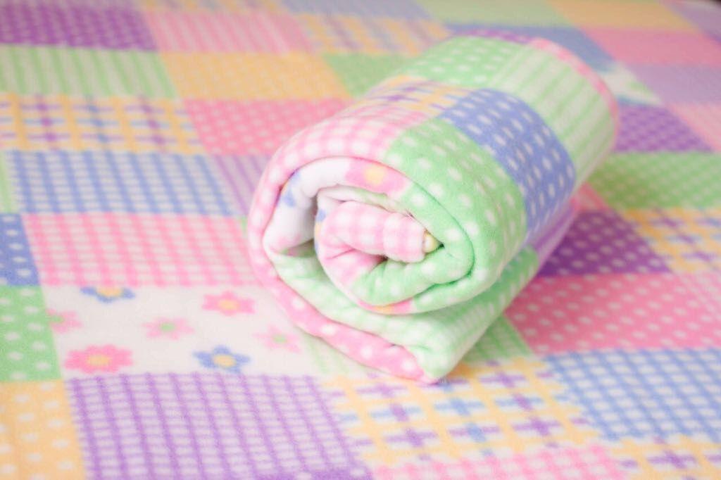 Cobertor Microfibra Bebê Patchwork