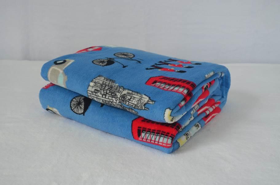 Cobertor Microfibra Estampado London