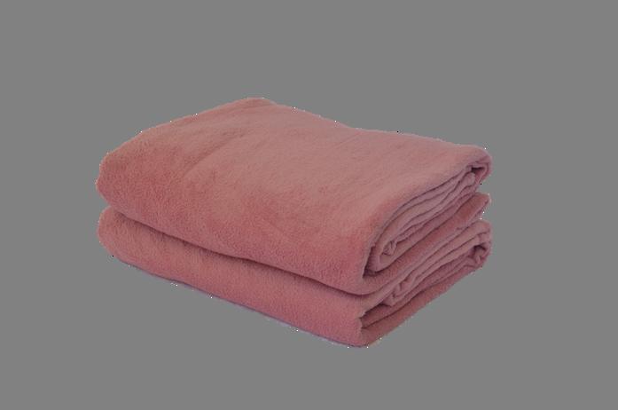 Cobertor Microfibra Plush Borgonha