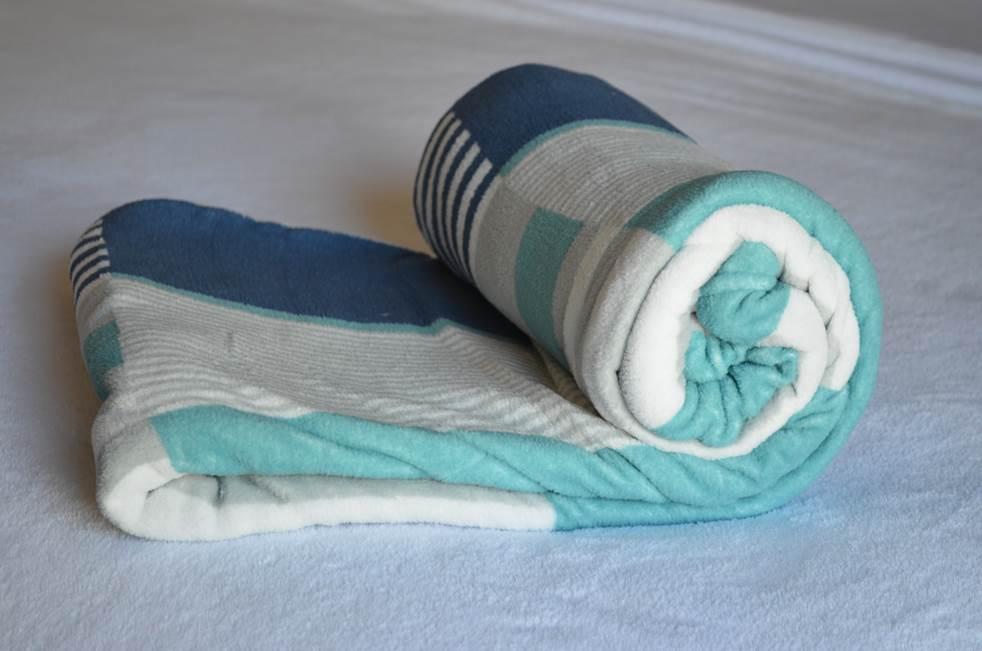Cobertor Ultrasoft Listrado