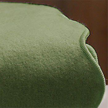 Lençol de Flanela Verde Musgo