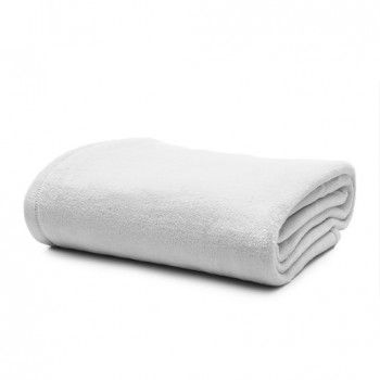 Manta Softfleece Branca