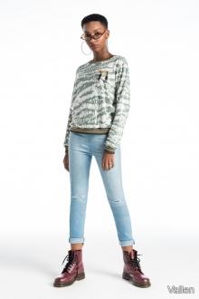 Calça Jeans Rasgada - Vallen