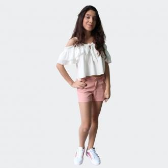 Conjunto Teen Blusa e Shorts  - Collie Teen