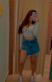 Shorts Saia Jeans Destroyed