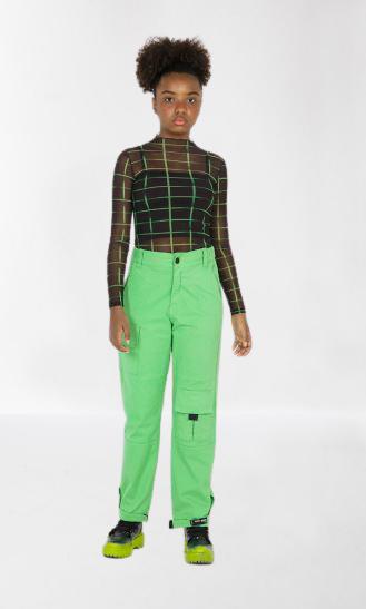 Blusa Telinha Quadriculada com Top